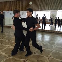 Сборы 2015. Бальные танцы.